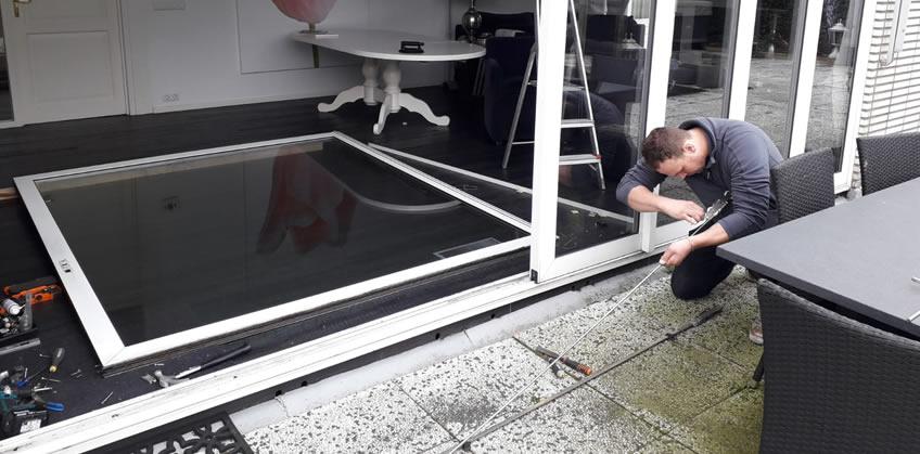 Schuifpui reparatie Beugen